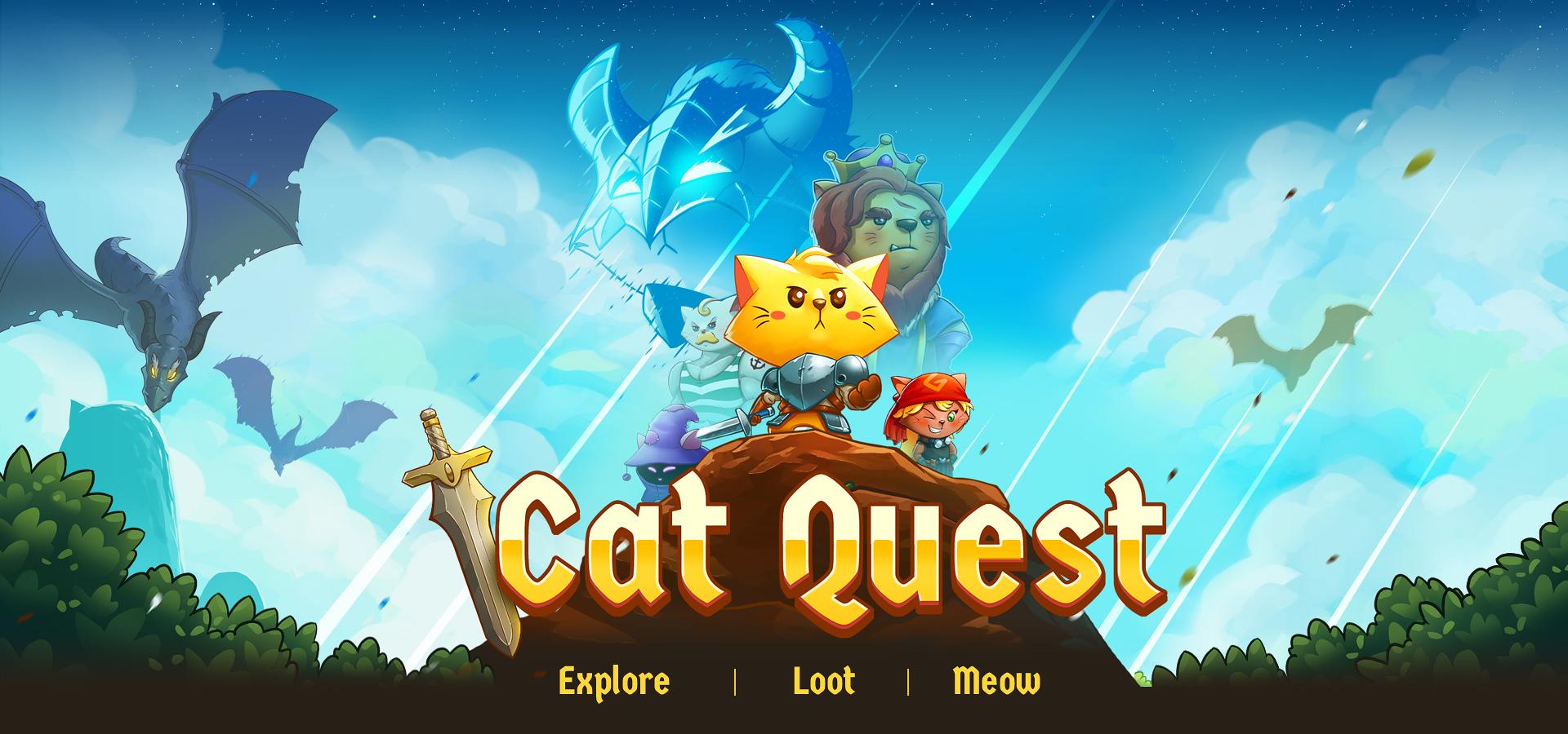 Игры квест кот