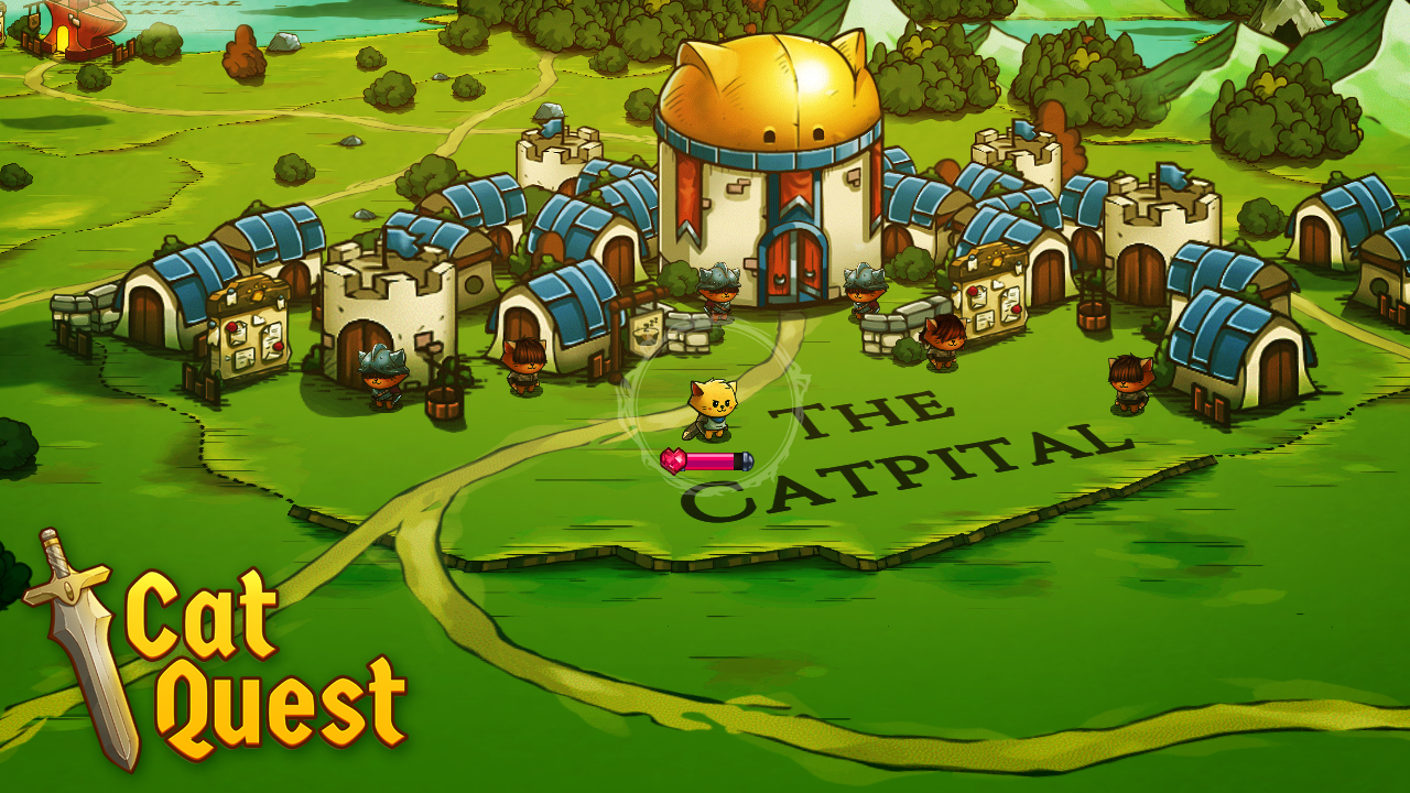 Cat Quest - Visiting the Catpital!