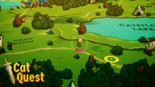 Cat Quest – Running along Catpital Lake!