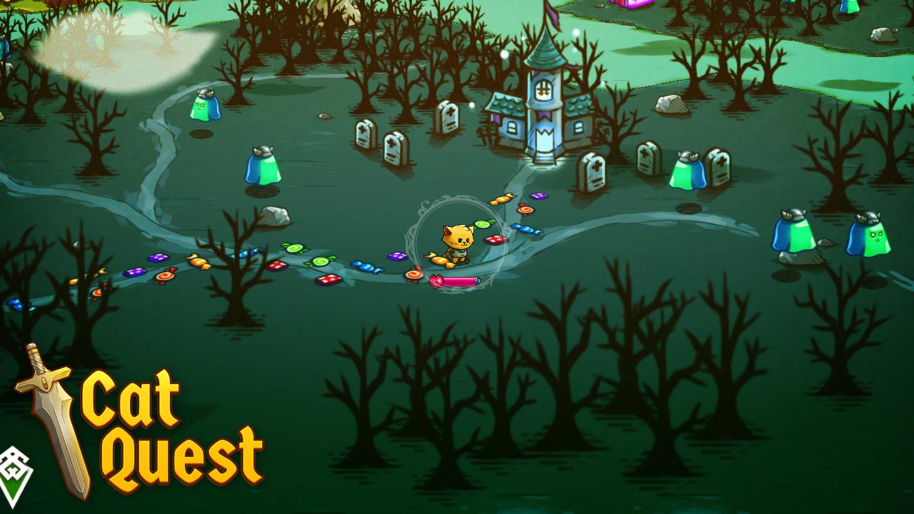 Cat Quest - A haunted island stops no cat!